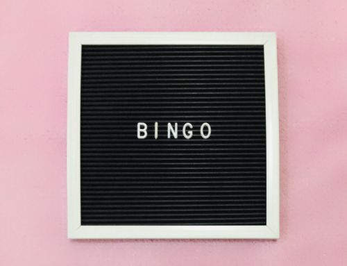 Come Play B-I-N-G-O with us on Sunday, June 6, 2021