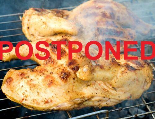 POSTPONED! The AVFRD Famous Grill Chicken Dinner Scheduled for September 18, 2021 has been POSTPONED!